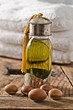 Argan oil and fruits