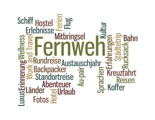 Fernweh - pastell
