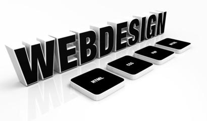 Webdesign Portfolio Konzept Schwarz 02