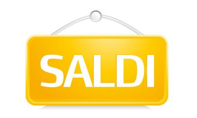 Cartellino Saldi_giallo