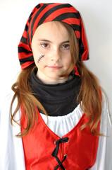 déguisement fillette pirate