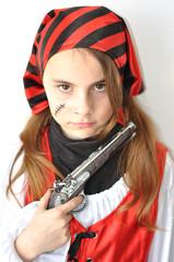 déguisement pirate fillette