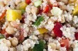 Close Up Quinoa Salad