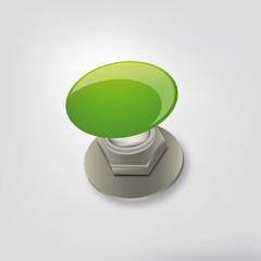 pulsante verde