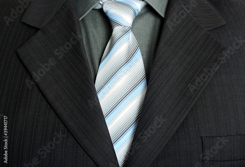 Elegant business suit stock image