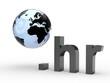 3D Domain hr mit Weltkugel