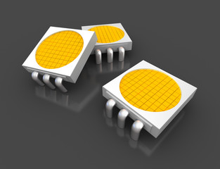 Led light lamp chips