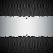 Vector metal modern plate steel background
