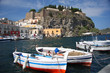 Lipari Island with marina in Italy