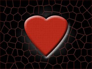 Herz abstrakt Background Textur Liebe