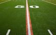 American Football Field - 50 yard line