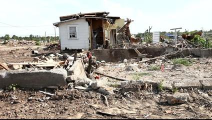 Joplin after tornado
