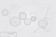 Blueprint Concept on White