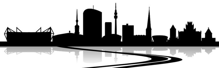 Skyline Dortmund Straße