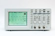 Digital oscilloscope with square wave on the screen - 39455523