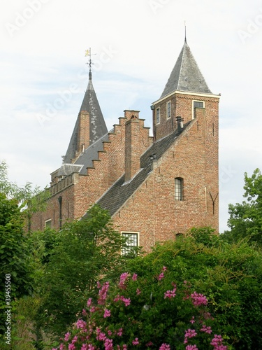 Castle Haamstede in the Netherlands