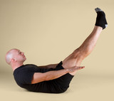 Pilates Position - the Hundred