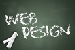 "Chalkboard ""Web Design"""