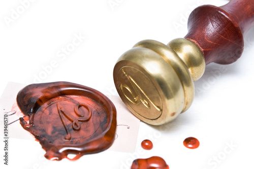 Personal stamp and wax seal