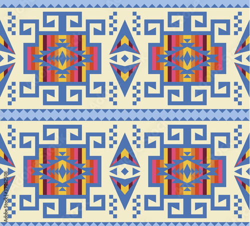 Geometric seamles pattern