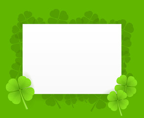 St Patrick Greeting Card