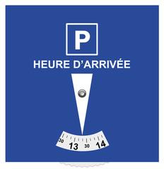 disque de stationnement officiel norme européenne