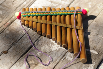 Andean flute 安第斯笛 Андское флейта