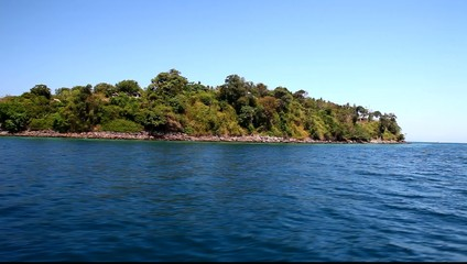 View of the island by boat 5