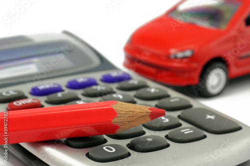 taschenrechner mit auto