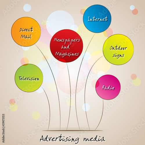 Advertising media