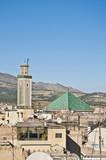 Kairaouine mosque at Fez, Morocco poster