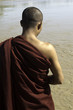 Myanmar / Burma - Buddhist Monk at a river
