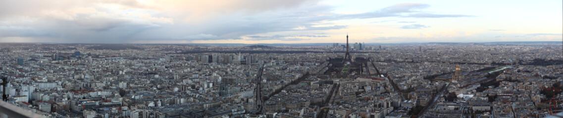 Parigi panorama da tour montparnasse 2