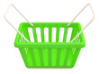 Shopping basket. 3D model