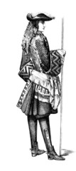 Officier 17th - c