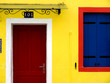 Burano's house in Venice, Italy