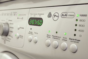 Display Lavatrice