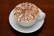 cappuccino, barista coffee cup
