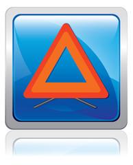 sécurité routière - Triangle de pré-signalisation