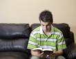 Teenager Having A Chirstian Devotional