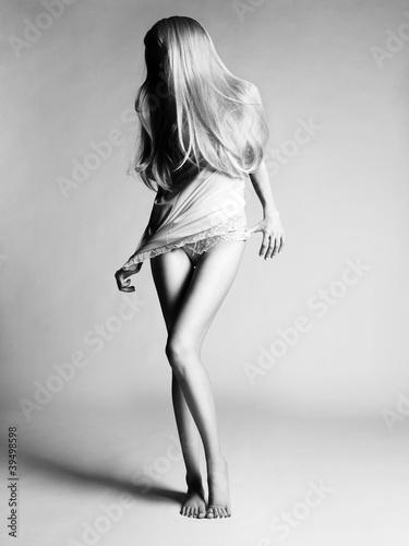 Fototapeten,nackt,nude,blondhaarig,körper