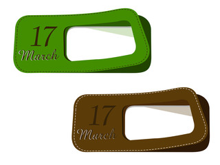 New labels for St.Patrick's Day.