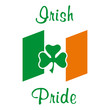 Irish Pride with flag