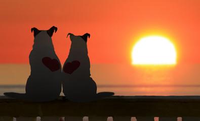Romantic dogs