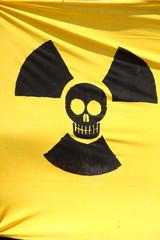 Radioactive flag