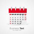 vecteur, calendrier/agenda