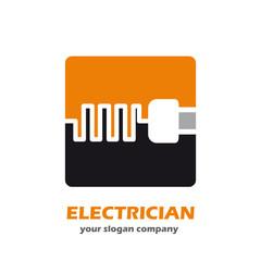 Logo Electrician Company # Vector