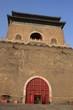 La tour de l'horloge à Pékin