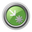 "Green 3D Style Button ""Point Of Interest"""