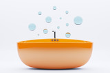 Bubble bathtub concept